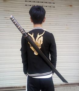 Image 5 - טובה איכות קנדו Shinai Bokken עץ חרב סכין צובה, קטאנה nihontou גידור אימון קוספליי COS אימון חרבות