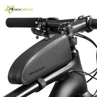 Rockbros Bicycle Bag Waterproof Front Frame Top Tube Saddle Bag MTB Road Mountain Bike Bag Cycling