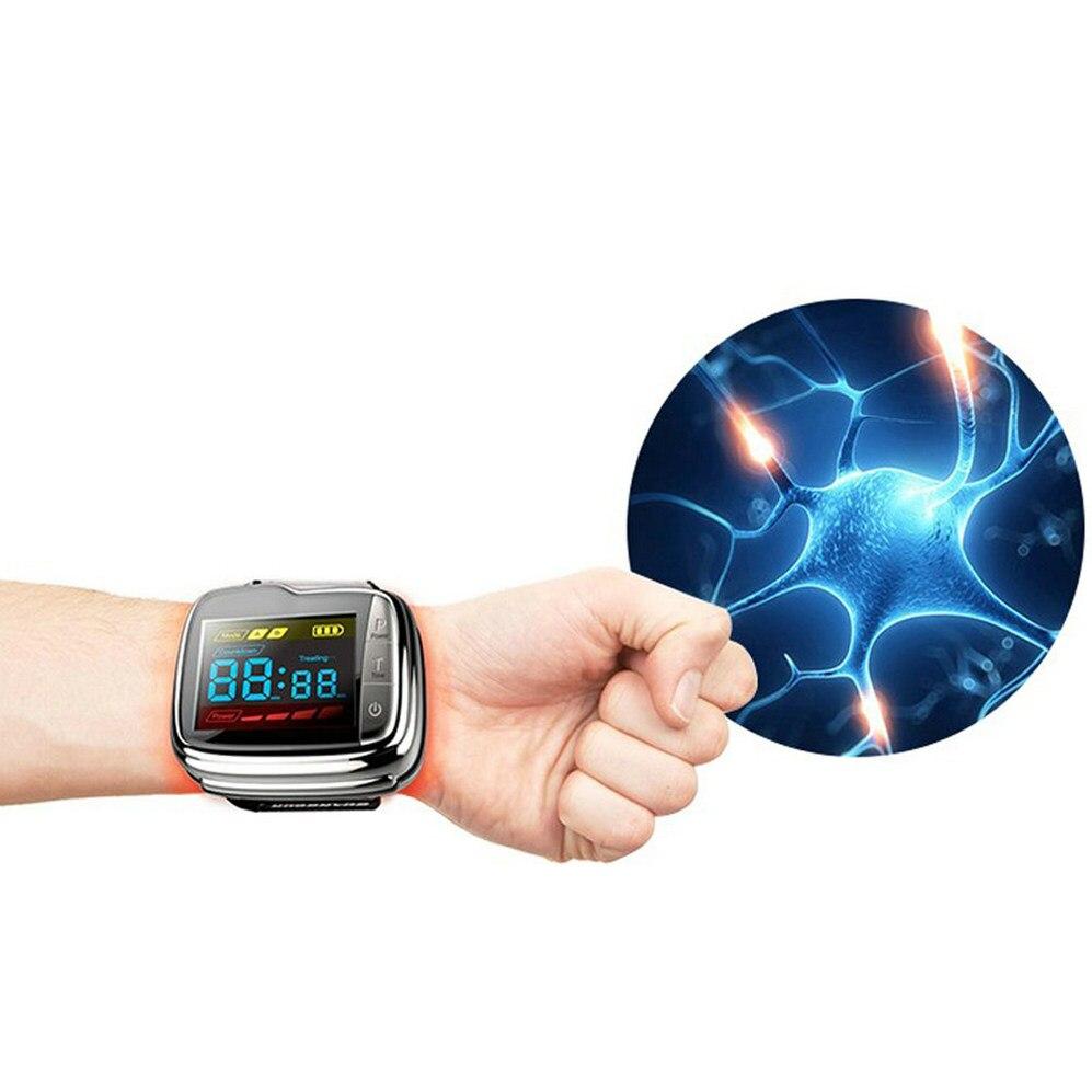Производство Китай физические природные способы снизить высокое кровяное давление средства красный лазер терапия акупунктурная лазерная