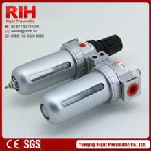 Right Pneumatic High Quality A series Air source treatment components differential pressure drainage type SFC200