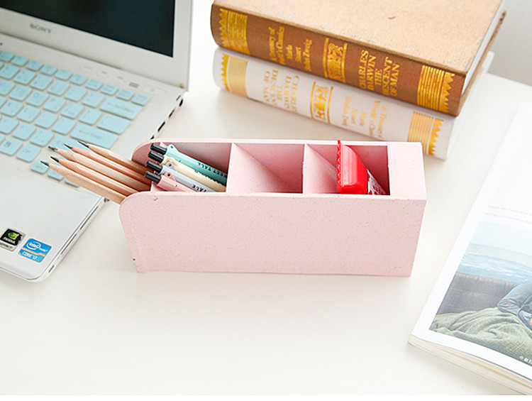 suporte de armazenamento para canetas de plástico lápis