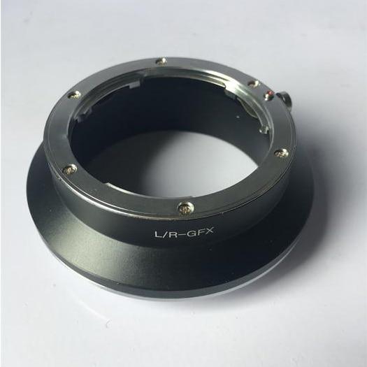 LR-GFX Adapter for Leica R Mount Lens to Fujifilm GFX 50S Medium Format Camera fd gfx adapter for canon fd mount lens to fujifilm gfx 50s medium format camera