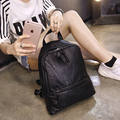 Women's 2017 summer new Korean version of the simple and shoulders back a small bag wild female casual small backpack mini bag