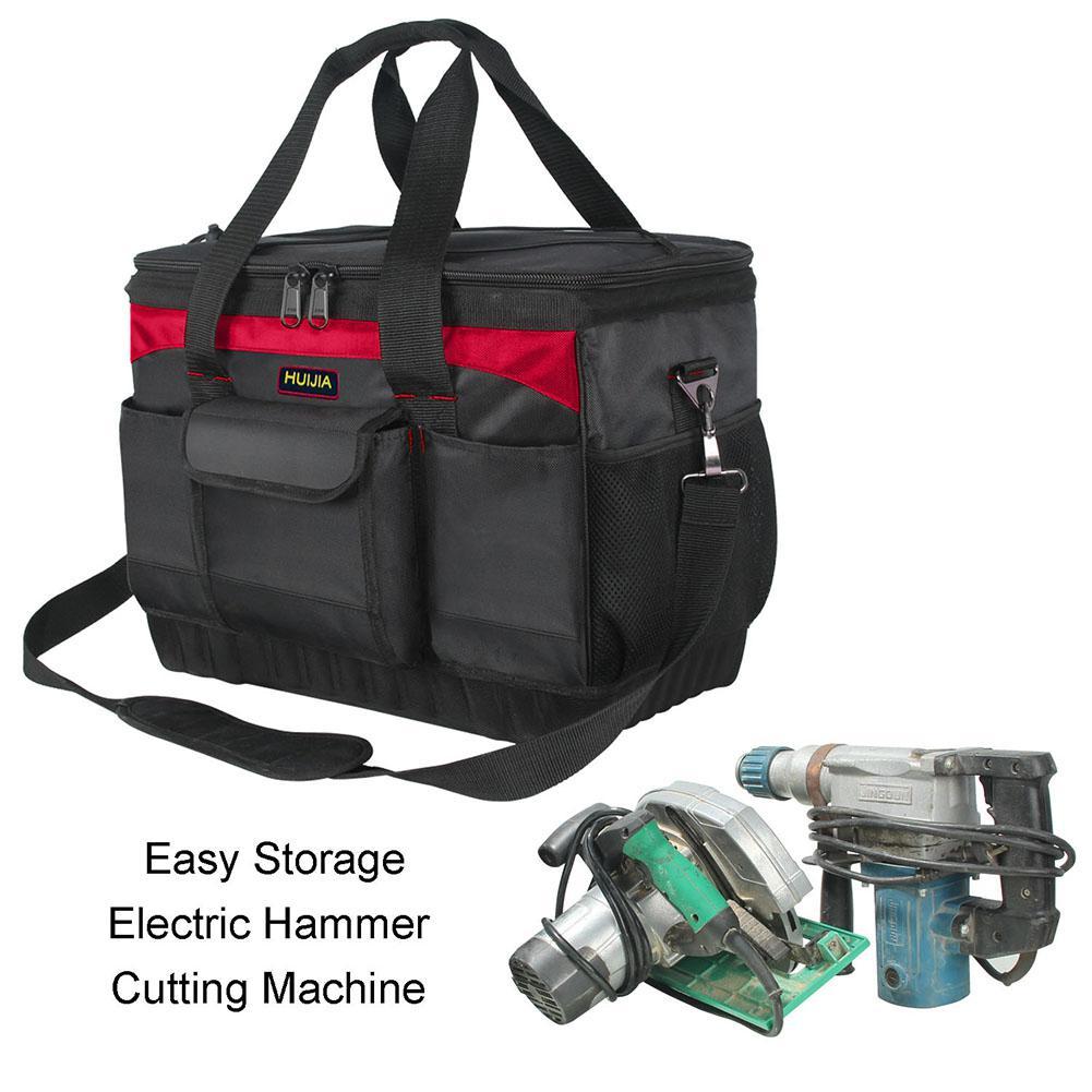 TPFOCUS Oxford sac à outils pour électricien en tissu pochette utilitaire boîte à outils pour réparer le sac de stockage de matériel appareil de Protection du travail