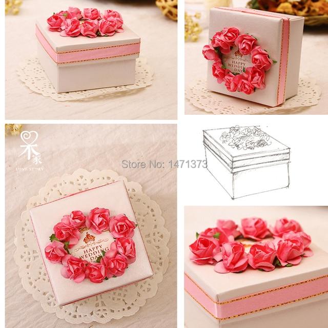 Gift Box Wedding Invitations: 2016 Wedding Invitations New Handmade Paper Wedding Gift