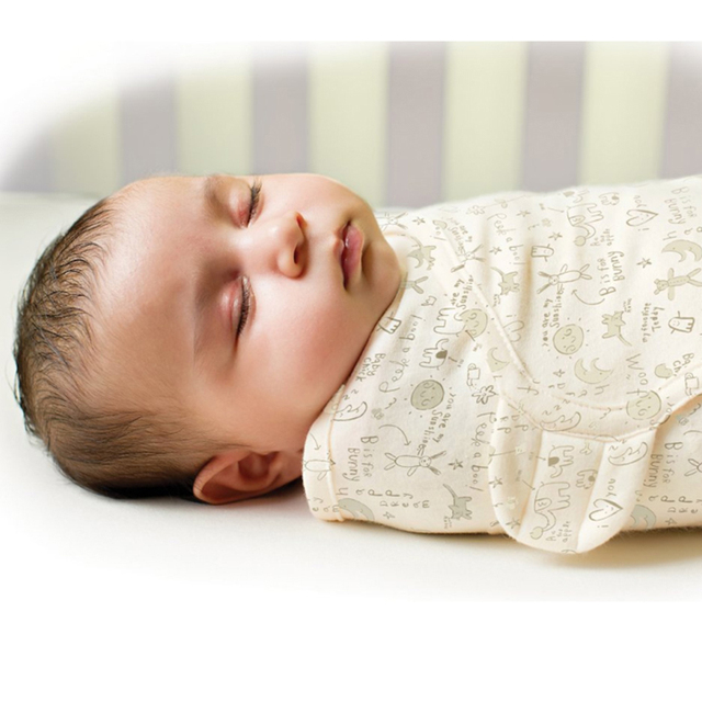Organic cotton baby wrap envelope Sleepsack