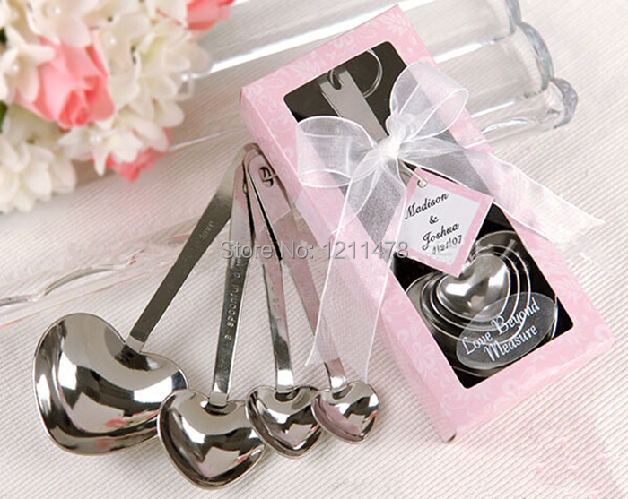Elegant wedding favors and gifts set for wedding souvenir party elegant wedding favors and gifts set for wedding souvenir party favors love measuring spoon set 4 pieces in underwear from mother kids on aliexpress junglespirit Gallery