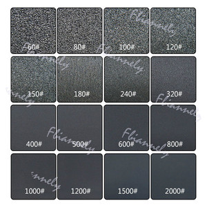 Image 5 - 230x280mm Grit 180 400 800 1000 1200 1500 2000 Wet and Dry Sandpaper Polishing Abrasive Waterproof Paper Sheets