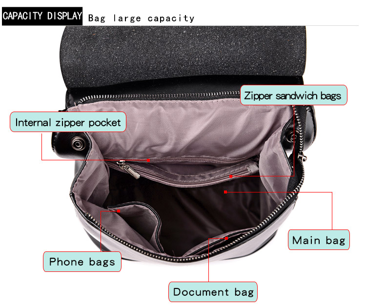 HTB1z.cmQ7zoK1RjSZFlq6yi4VXaz HOT Fashion Women Backpack High Quality Youth Leather Backpacks for Teenage Girls Female School Shoulder Bag Bagpack mochila