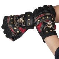 Male Gloves Semi Finger Gloves Male Outside Sport Bicycle Ride Gloves Fashion Semi Finger
