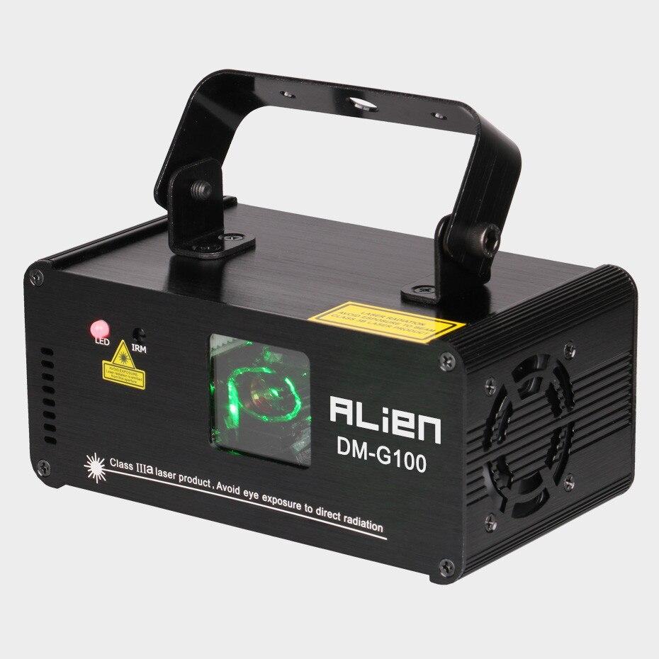 ALIEN DMX 100mW vert Laser scène éclairage Scanner Effcet barre de noël danse fête spectacle lumière DJ Disco Laser projecteur lumières - 2