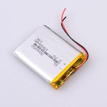 Lipo Battery Lithium-Polymer 1500mah 3pcs/Lot Car-Dvr-Recorder Mp3 Mp4 GPS DVD E-Book