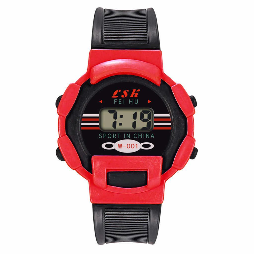 ילדי בנות אנלוגי דיגיטלי ספורט LED אלקטרוני עמיד למים שעון יד שמלת שעון מתנות לילדים ילדים שעון ספורט שעון