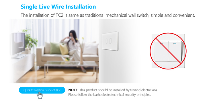 Broadlink TC2 Light Touch Switch US AU 2Gang Smart Home Wirless Remote Control Wall Switch White Touch Panel_03.jpg