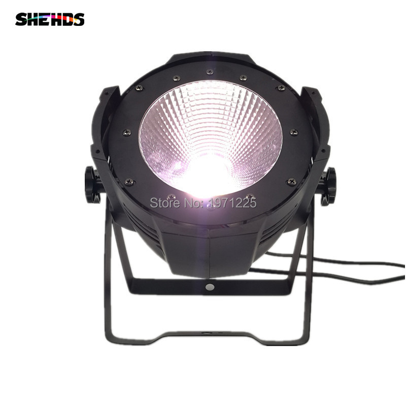 (2pcs) LED Par Light COB 100W High Brightness DJ DMX Led Cool White and Warm White 100W COB Led Par Light Stage Strobe Effect купить