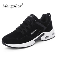 Mangobox New Arrival Women Air Cushion Running Shoes Brand Sport Sneakers Comfortable Men Jogging Footwear Black Runner Shoes