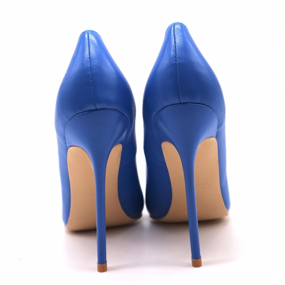 Us4 Real 12cm En Heel Alto Envío Aoranjimm Azul 8cm Tacón Punta Bomba Height Height Us10 Pic Venta La De Zapatos Mate Cm 8 Us12 Height 10 120mm Gratis Estrecha 10cm gAABUx