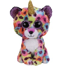 Ty pelúcia & animais de pelúcia giselle o leopardo brinquedo boneca