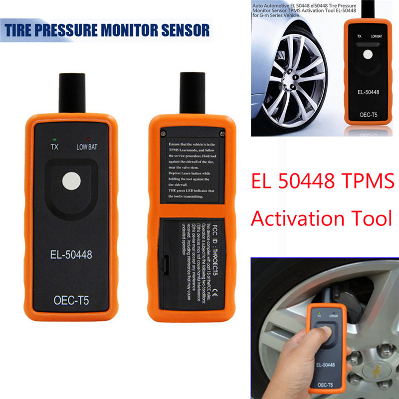 Image 3 - Hiyork EL 50448 Auto Tire Pressure Monitor Sensor Activation Tool For Buick Cadillac For Chevrolet TPMS Reset Instrument Hot New-in Car Diagnostic Cables & Connectors from Automobiles & Motorcycles