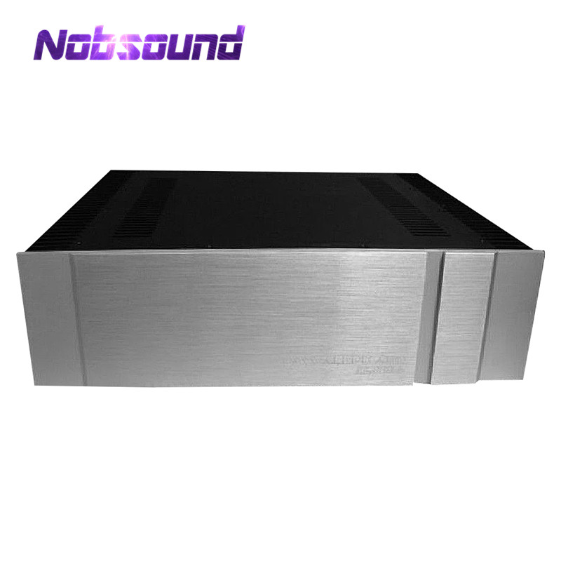 Blank Aluminum Chassis Class A Power Amplifier Case Enclosure W430*H150*D315mm цены
