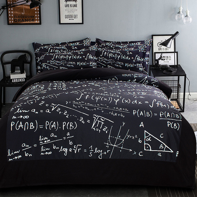 Us 81 25 Black And White Bedding Geometric Duvet Cover Single Twin Queen King Size 3 4pc Bedspread Kids Comforter Set 500tc Home Textile In Bedding