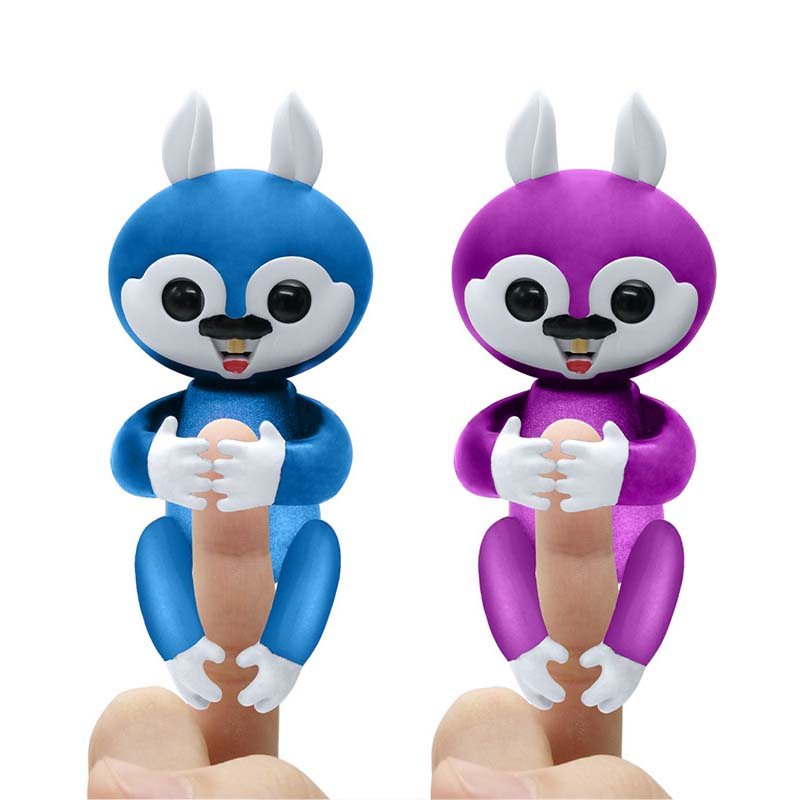 Finger Squirrel Monkey Interactive Baby Unicorn Mini Interactive Smart Sensor Smart Induction Toys funny falling tumbling monkey parenting family interactive toy