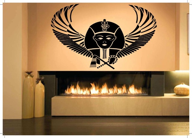 new arrival egypt vinyl wall decal pharaoh king egypt large mural