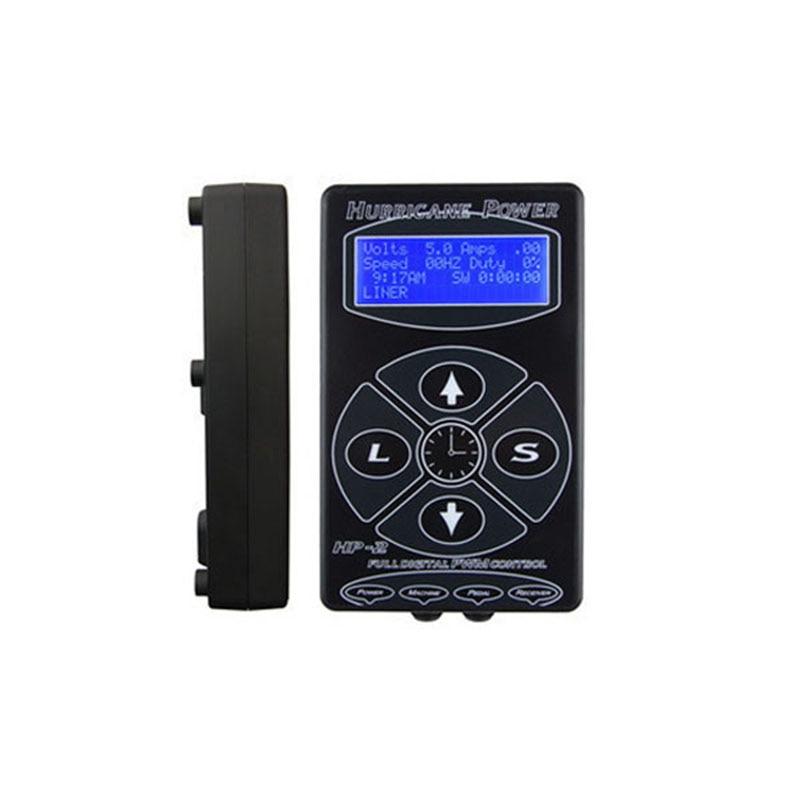 Black Tattoo Power Supply Power Supply LCD Tattoo Digital Dual Power Supply Tattoo Machines Accessories 10pcs fan7601 lcd power supply pwm chip