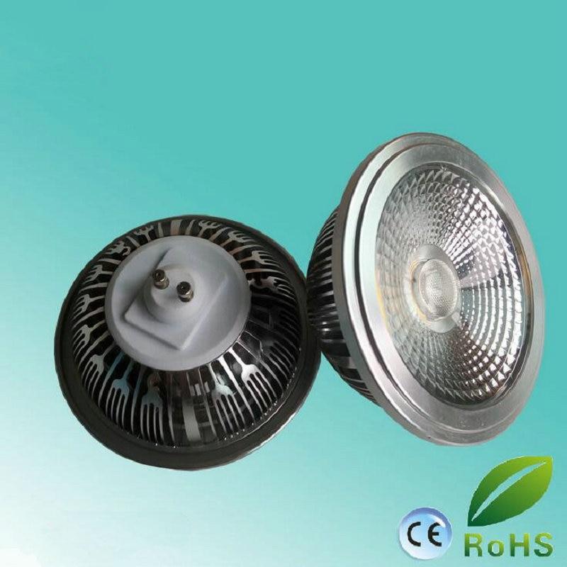 Free Shipping Ac110v/220v 15w Cob Led Ar111 Qr111 G53 Cob Led Spot Light Gu10 Led Light Bulbs Warm Cold White 6pcs/lot Light Bulbs