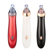 Blackhead Remover Skin Care Pore Vacuum Acne Black Dot Pimple Removal Vacuum Suction Tool with 5 Suction Heads Face Cleaner Care