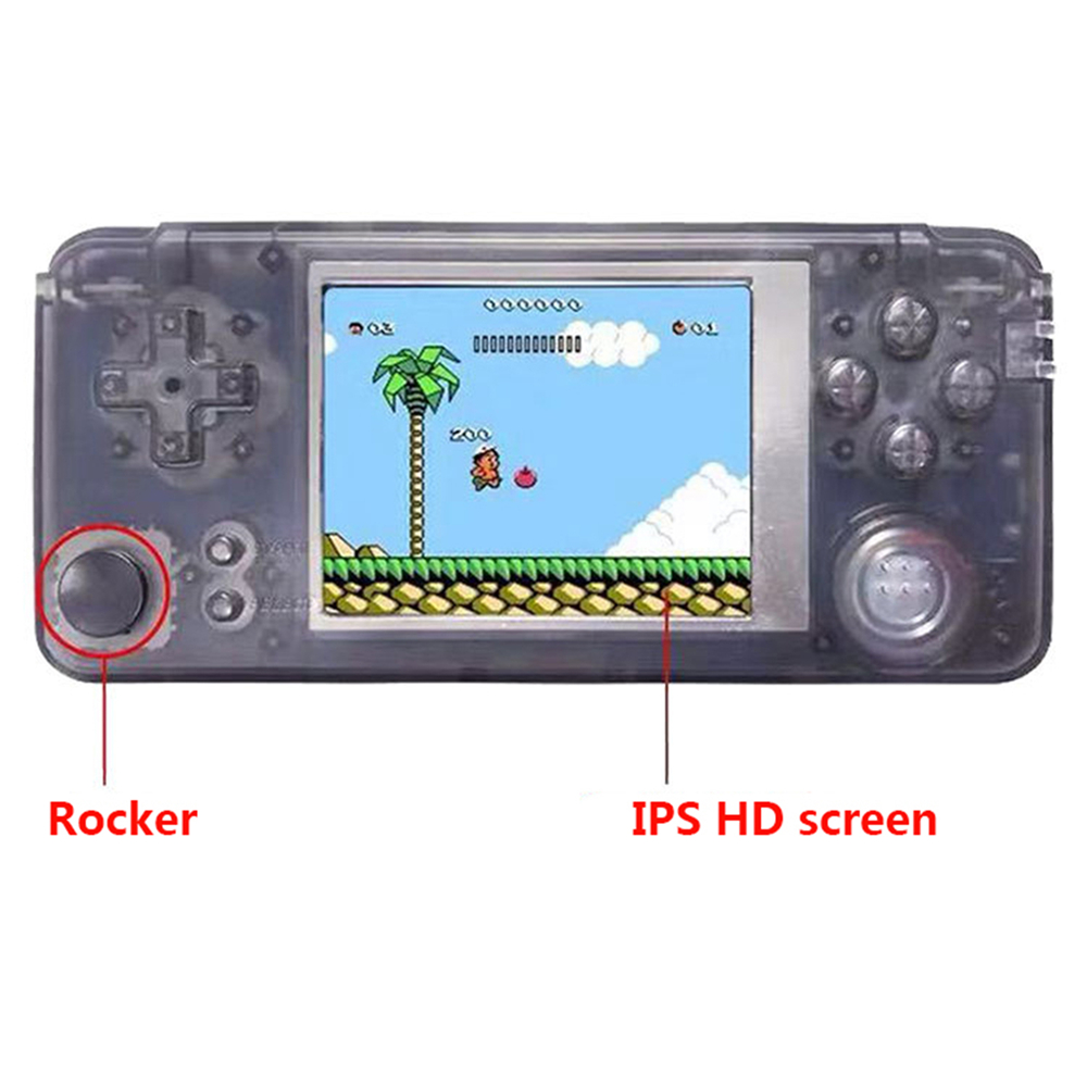 Mini Retro przenośna konsola do gier z Rocker 16 GB 3.0 Cal ekran IPS HD 3000 gry wideo przenośny odtwarzacz do gier wideo w Gamepady od Elektronika użytkowa na AliExpress - 11.11_Double 11Singles' Day 1