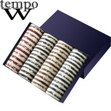WTEMPO NIEUWE Sexy mannen Ondergoed Modal Boxer Shorts Boxers Tij mannen camouflage Boxer Homme Cueca Plus Size Onderbroek 4 stks/partij(China)