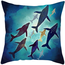 Hot sales 45*45 cm pillowcase with beautiful painting printed cheap and high quality decorative pillowcover