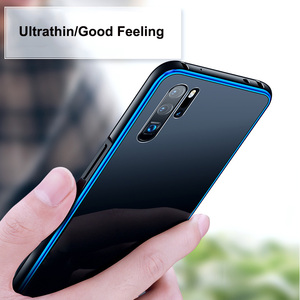 Image 5 - Leanonus מתכת פגוש מקרה עבור Huawei P30 P20 פרו Mate 20 פרו 9 שעתי מזג זכוכית כיסוי נגד לדפוק alumium מסגרת זכוכית טלפון מקרה