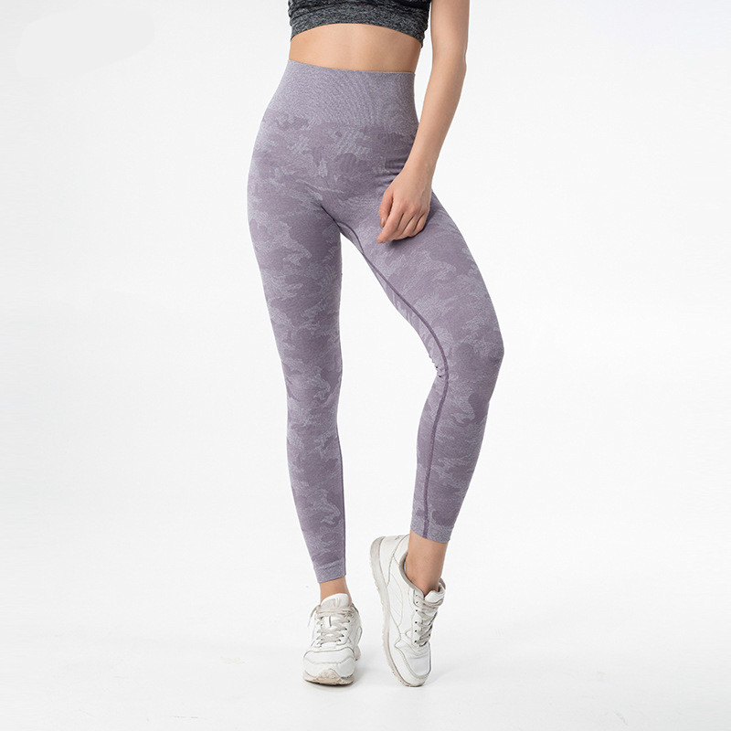 Colorvalue Camo Seamless Sport Fitness Leggings Women Stretchy High Waist Workout Gym Tights Squatproof Athletic Yoga Pants in Yoga Pants from Sports Entertainment
