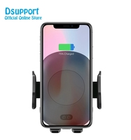 Automatic Car Fast Wireless Charger Smartphone Holder Air Vent And Stand Mount Phone Charging Tablet PC 10W for iPhone 8 X