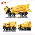 Alloy 1:50 Cement  Moveable Cab Rotate Mixer by Hand Diecast Model