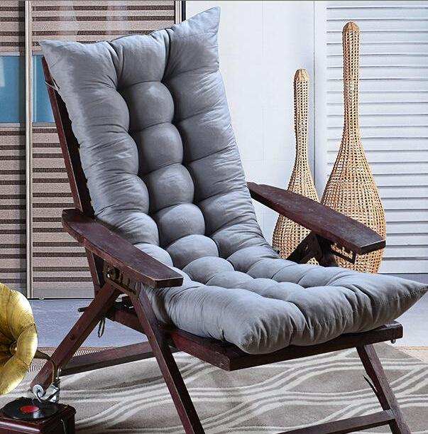 reversible double sides use thick cushion,chair cushion, recliner chair seat cushion,rocking chair padded seats