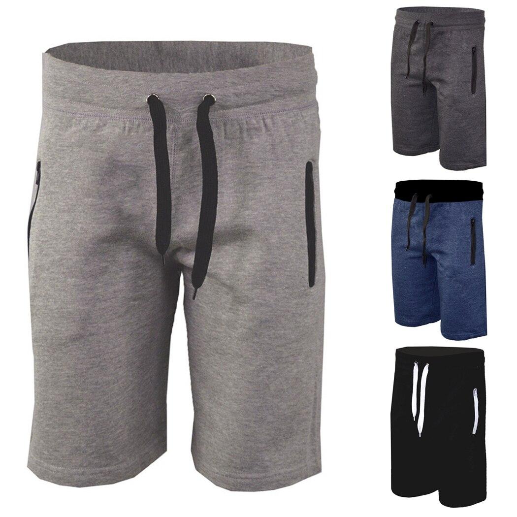 Compre New Mens Plain Fleece Joggers Shorts Pantalones Cortos De Verano De Los Hombres Ocasionales De La Aptitud Sueltos Pantalones Deportivos Hombre Corto A 9 97 Del Just4urwear Dhgate Com