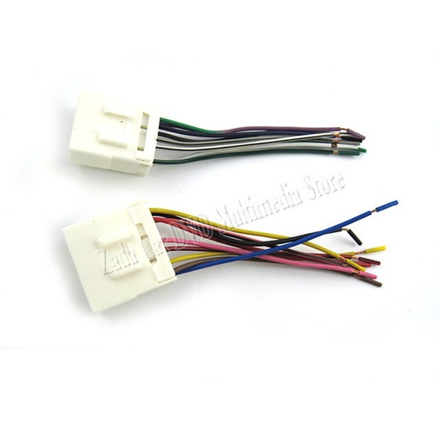 top quality car audio stereo wiring harness adapter plug for geely rh aliexpress com Stereo Speaker Wiring Diagram Parallel Speaker Wiring