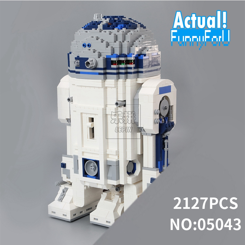 NEW 05043 Star 2127 PCS Series Wars Genuine The R2- Robot Set Out of print D2 Building Blocks Bricks lepin Toys 10225 футболка классическая printio r2 d2 star wars