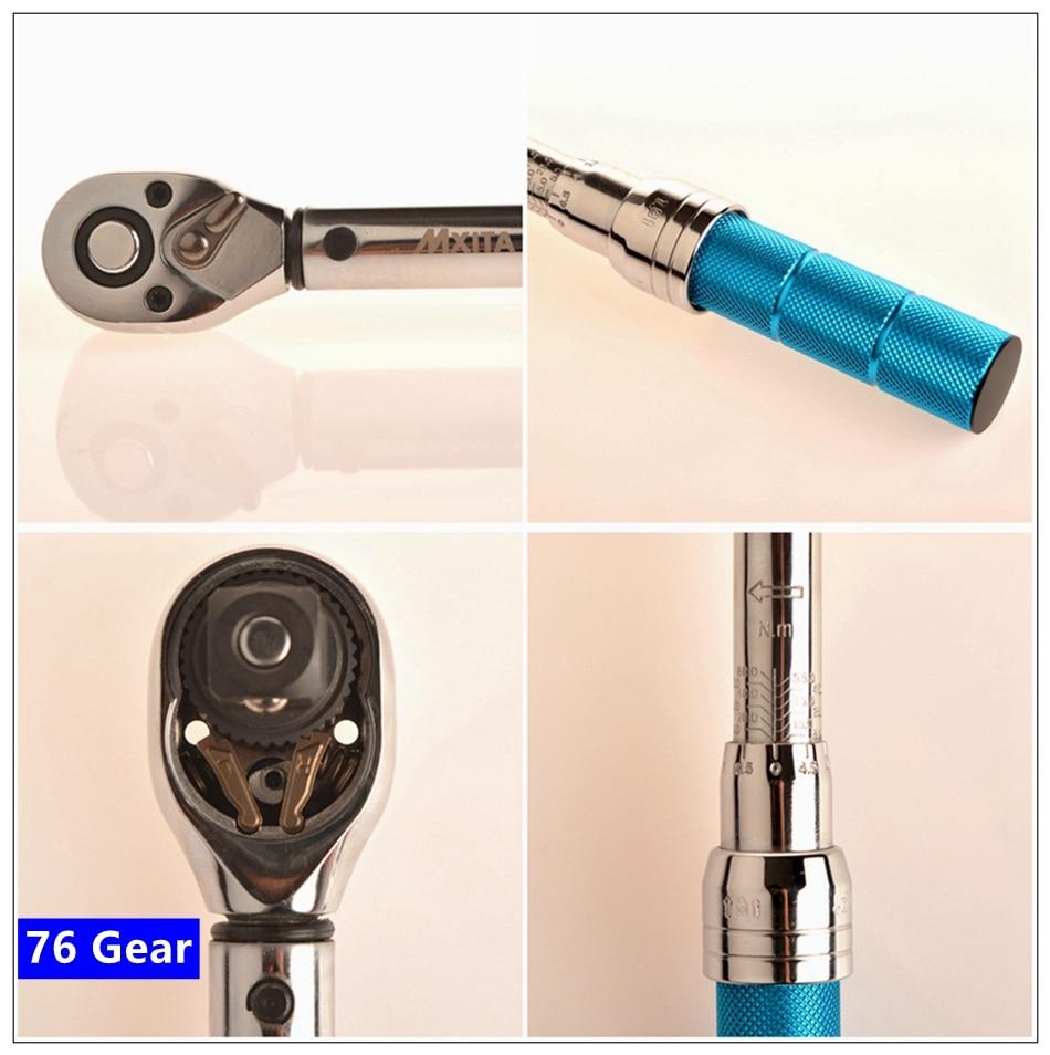 MXITA 5-delige kit Magnetische bougiesleutel Momentsleutel Auto 3/8 - Handgereedschap - Foto 6