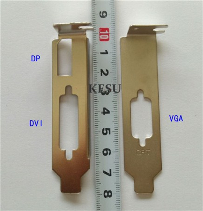 High quality Low Profile Bracket 8CM VGA For Graphic Video Card 2U Case
