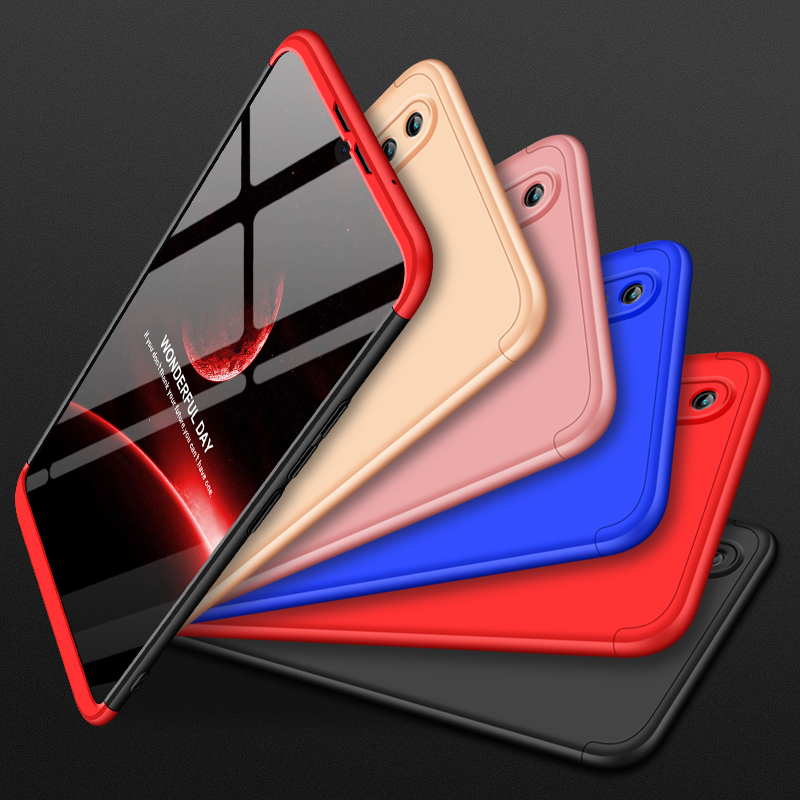 for Huawei Y Max case 360 Full Protection Hard Case Three-in-one Anti-knock&proof cover for Huawei Y Max YMax Coque Fundas 7.12
