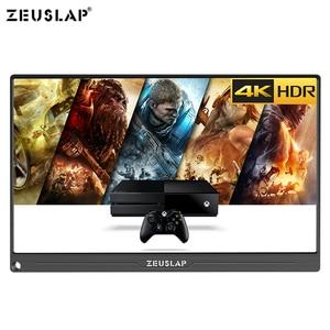 Image 4 - 13.3 بوصة 4K + HDR NTSC 72% IPS شاشة TYPE C HDMI المحمولة رصد ل Xbox One PS4 التبديل شاشة عرض ألعاب
