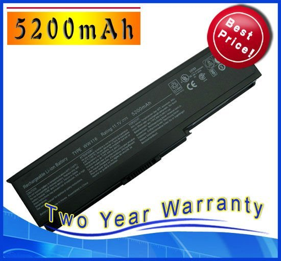 5200mAh Battery for Dell Vostro 1400 1420,Inspiron 1400 1420 312-0543 312-0584 312-0585 312-0580