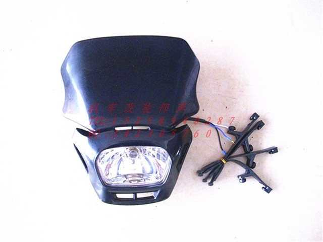 Headlight conversion capitales grimace headlights apollo KAWASAKI off-road vehicles side lights small proud 12v35w headlights