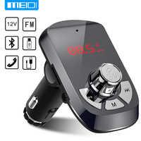 MEIDI FM transmetteur chargeur de voiture sans fil Bluetooth Kit de voiture mains libres lecteur MP3 double USB chargeur de voiture AUX