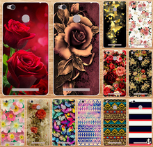 Phone Case with Flowers for Xiaomi