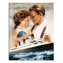 Diamant stickerei Romantik der Titanic 35×45 Diy diamant quadrat bohrer rhinestone klebte Handwerk Hand home dekoration